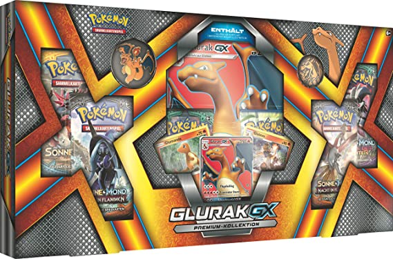 Pokémon Glurak-GX Colección Premium: Amazon.es: Juguetes y juegos