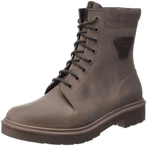 Jeans 9351347A415 - Botines de Piel sintética Hombre, Color Negro, Talla 45 EU Armani