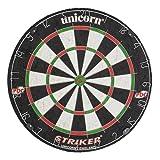 Striker Dartboard - Black/white/Red/Green