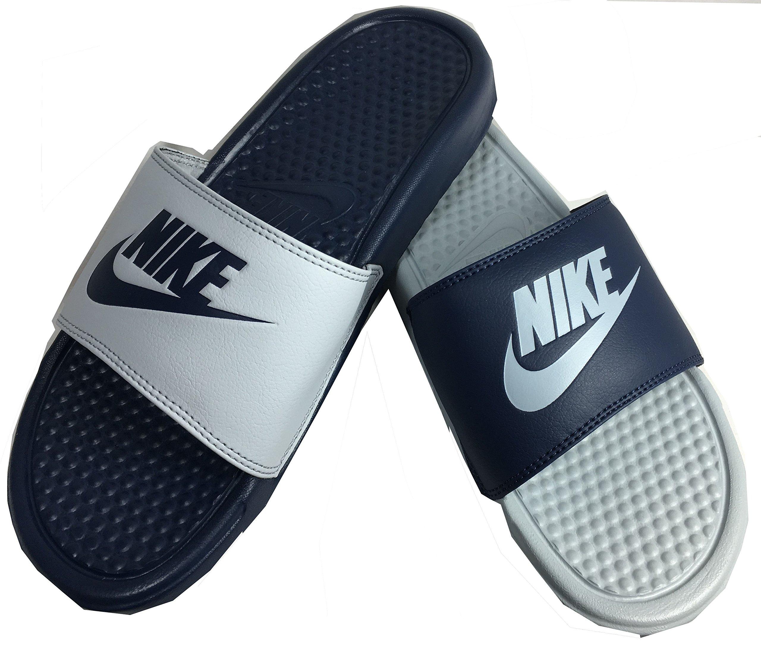 f9e38904e588 Galleon - Nike Benassi Jdi Mismatch Mens Style  818736-400 Size  7 M US