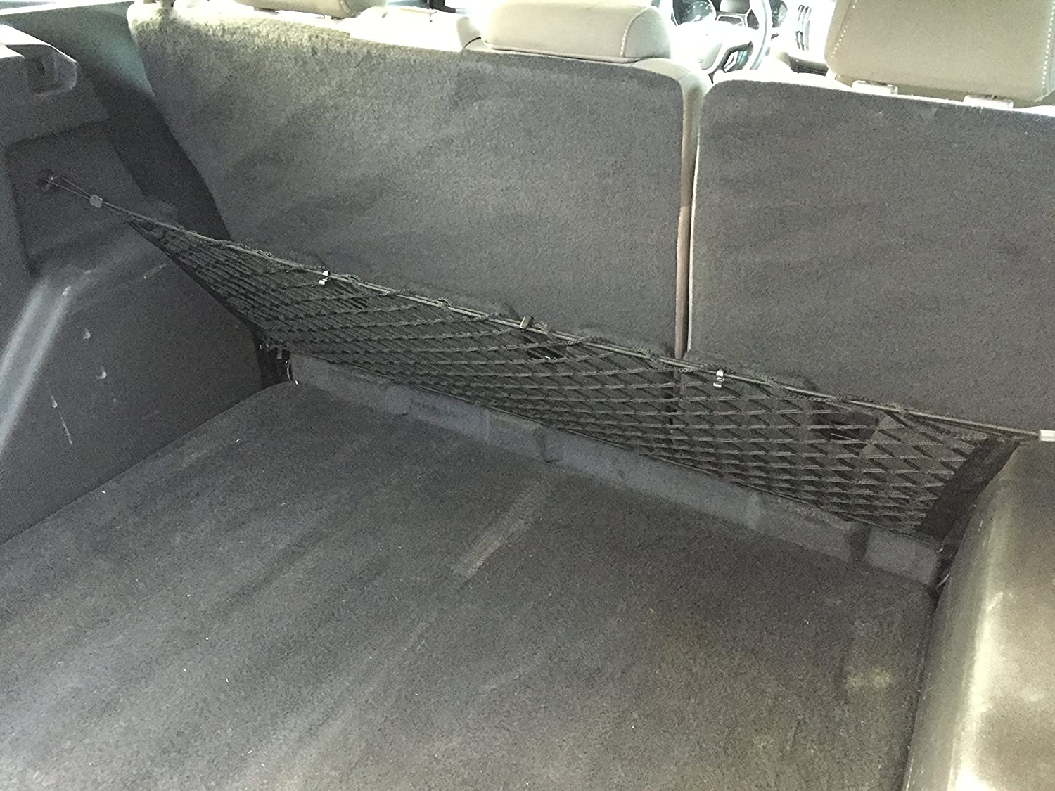 Cargo Net Envelope Style Trunk Storage Organizer Net for 2013-2017 Ford Fusion