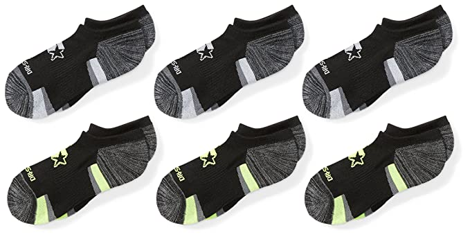 7153235e1ff7b Starter Boys' 6-Pack Athletic No-Show Socks, Amazon Exclusive