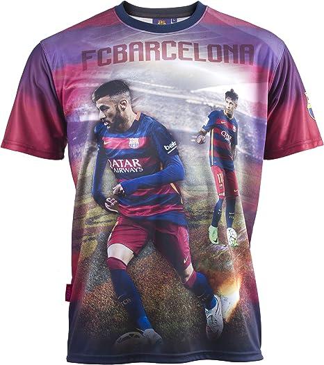 FC Barcelona-Camiseta de NEYMAR Jr-Colección oficial de FC Barcelona para hombre, talla de adulto: Amazon.es: Deportes y aire libre