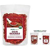 Healthworks Goji Berries 32 oz Raw Organic USDA Certified 2 lb
