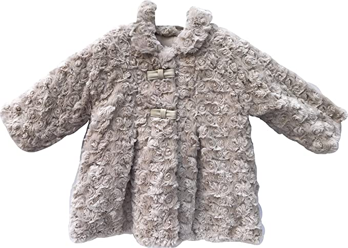 a bajo precio barata tecnicas modernas vendible mayoral abrigo pelo beige niña 2-4m