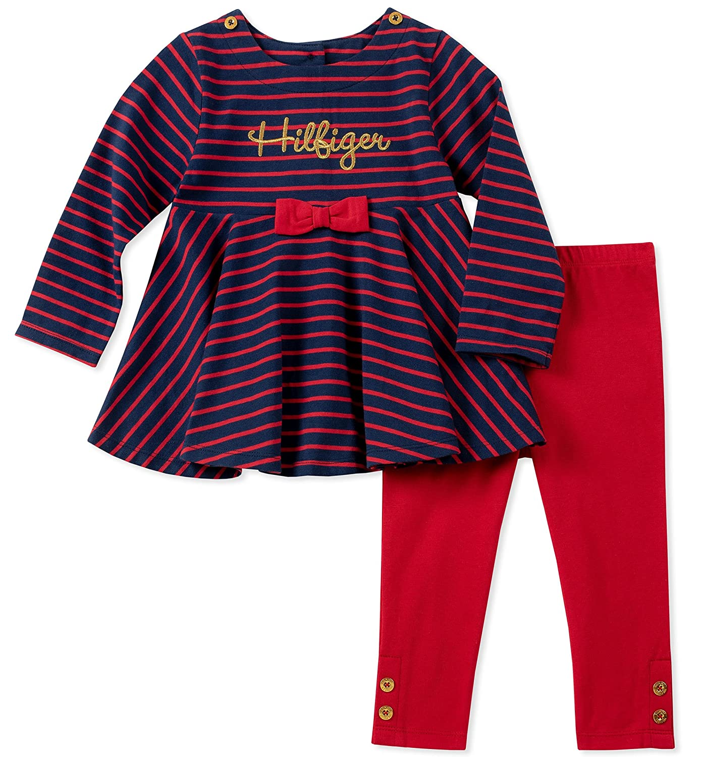 日本に Tommy Misses Navy Hilfiger PANTS ベビーガールズ 12 Misses Hilfiger Red/Core Navy B079JDJB4X, ★日本の職人技★:d4b57708 --- a0267596.xsph.ru