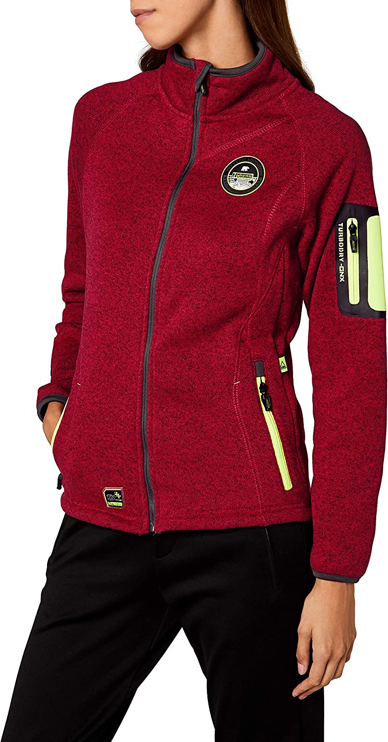 TALLA M. Geographical Norway Trapeze Lady Chaqueta para Mujer