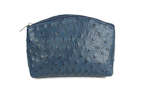 48551cb55d262 Belli  quot Bellini kleine Leder Kosmetiktasche Make Up Tasche -  Farbauswahl - 18x13x5 cm (