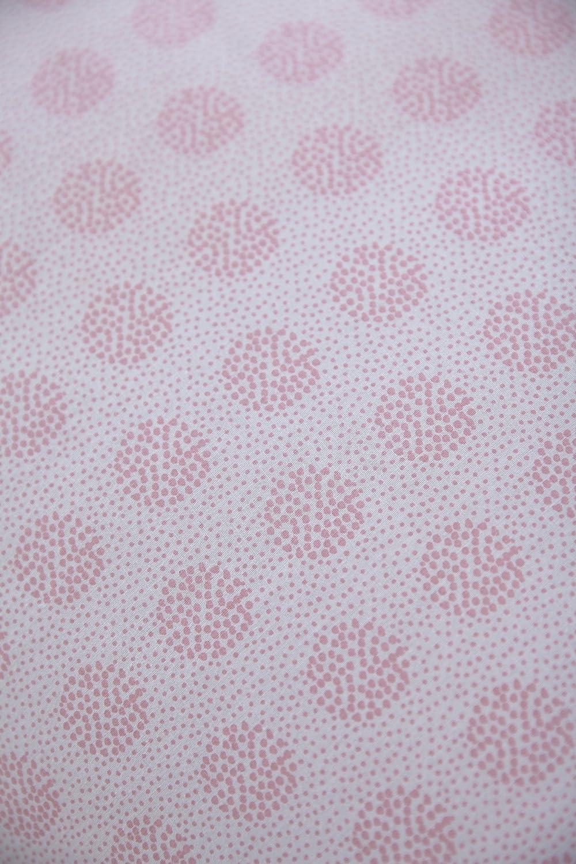 rosa, 2/unidades Clair de Lune Speckles de cuna