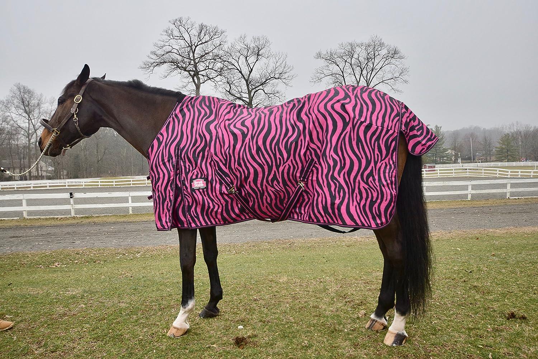 Barn& Stable Horse Blanket/600D Turnout Sheet Zebra print sizes 69-84