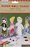 Petit Collage Paper Doll Chain Craft and Color, Fairy Tales
