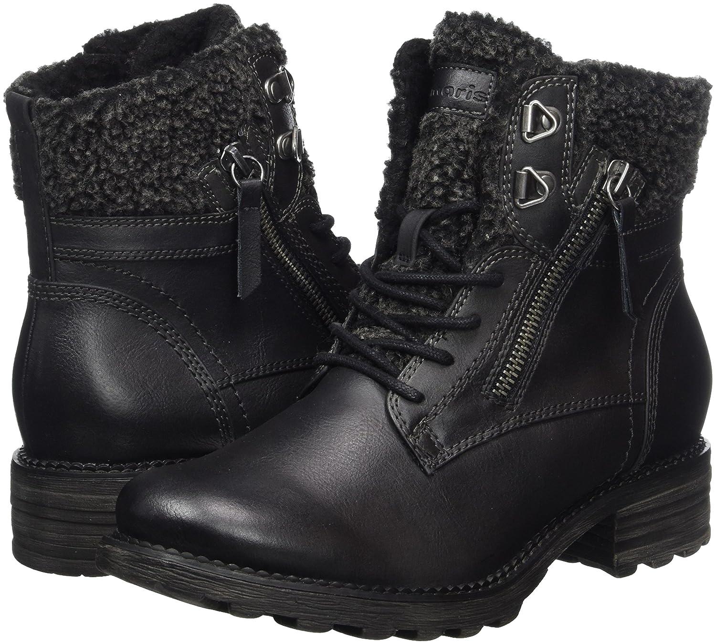Tamaris Damen Damen Damen 26050 Combat Stiefel Schwarz (schwarz) 9747e9