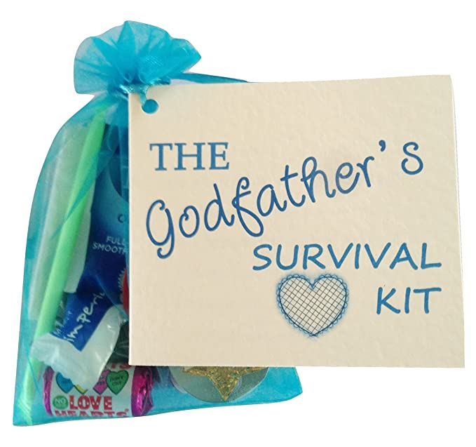 Fun Novelty Gift Godfathers Survival Kit