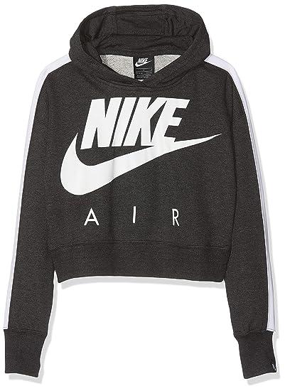 Nike Mädchen G NSW Crop Pe Air Sweatshirt