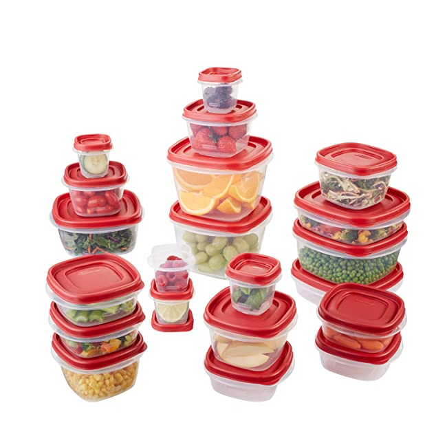 Rubbermaid Easy Find Lid 42-Piece Food Storage...