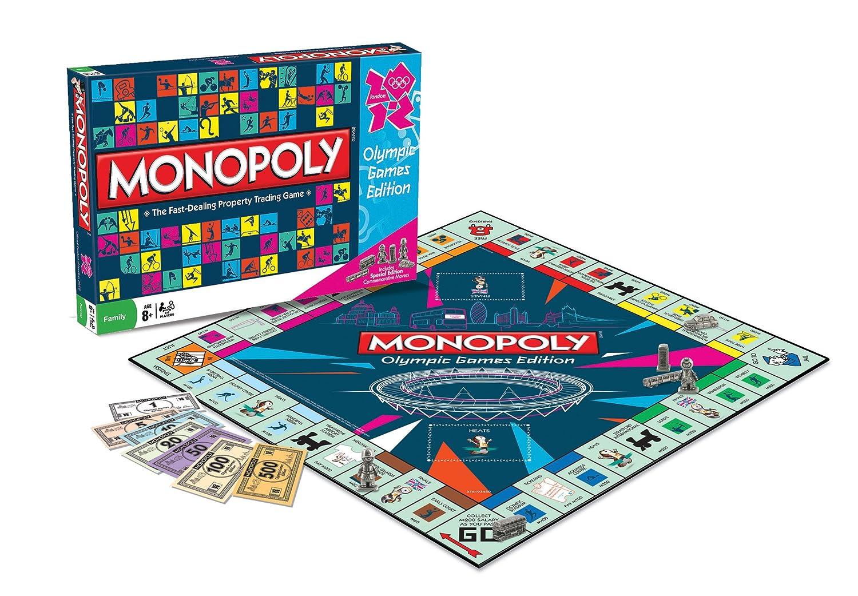 Amazon.com: Monopoly Edición de los Juegos Olímpicos: Sports ...