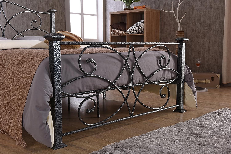 Hodedah HI824 Import Metal Bed Twin