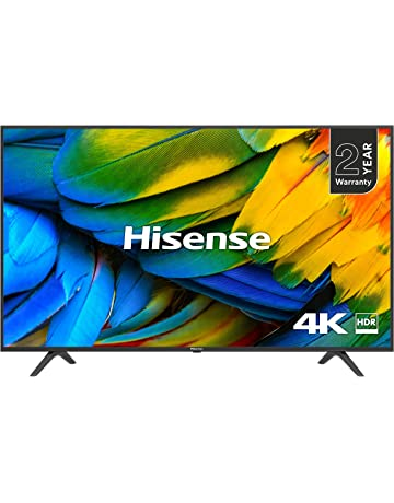 HISENSE H50B7100UK 50-Inch 4K UHD HDR Smart TV with Freeview Play (2019) [Energy Class A]