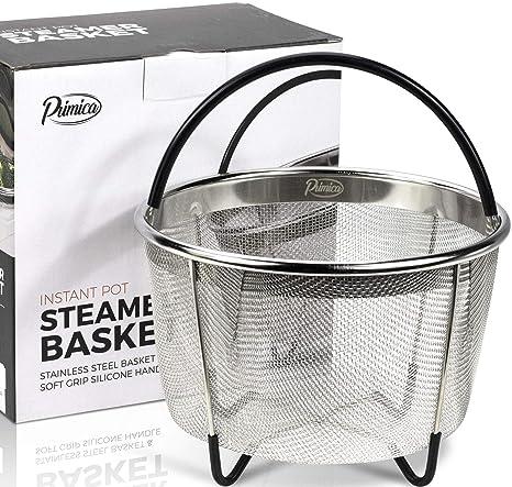 Amazon.com: Instant Pot Steamer Cesta se adapta a ollas 6 ...