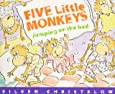 Five Little Monkeys Jumping on the Bed (Book & CD) (A Five Little Monkeys Story)