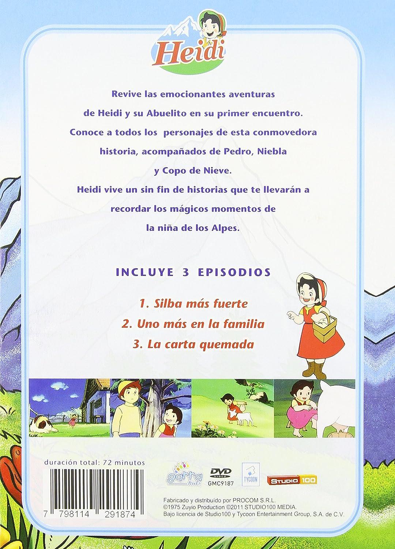 Heidi - Vol. 2-Heidi-Silva Mas Fuerte Edizione: Stati Uniti USA DVD: Amazon.es: Cine y Series TV