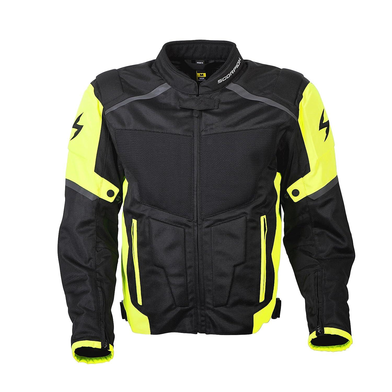 Hi-Viz, X-Large ScorpionExo Mens Influx Jacket
