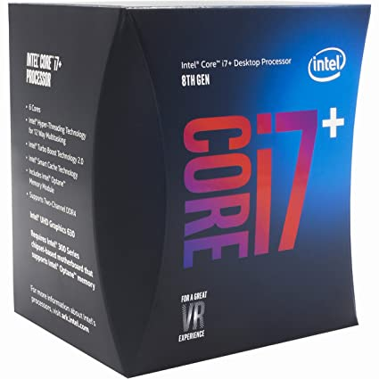 Intel CORE I7+8700 W/16GB M.2 OPTANE