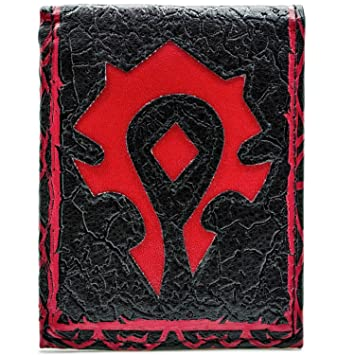 Cartera de Blizzard World of Warcraft Por la horda Rojo: Amazon.es: Equipaje