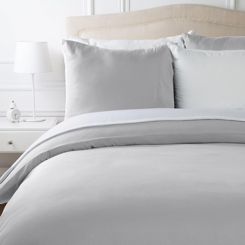 Parure de lit pas cher avec housse de couette en microfibre