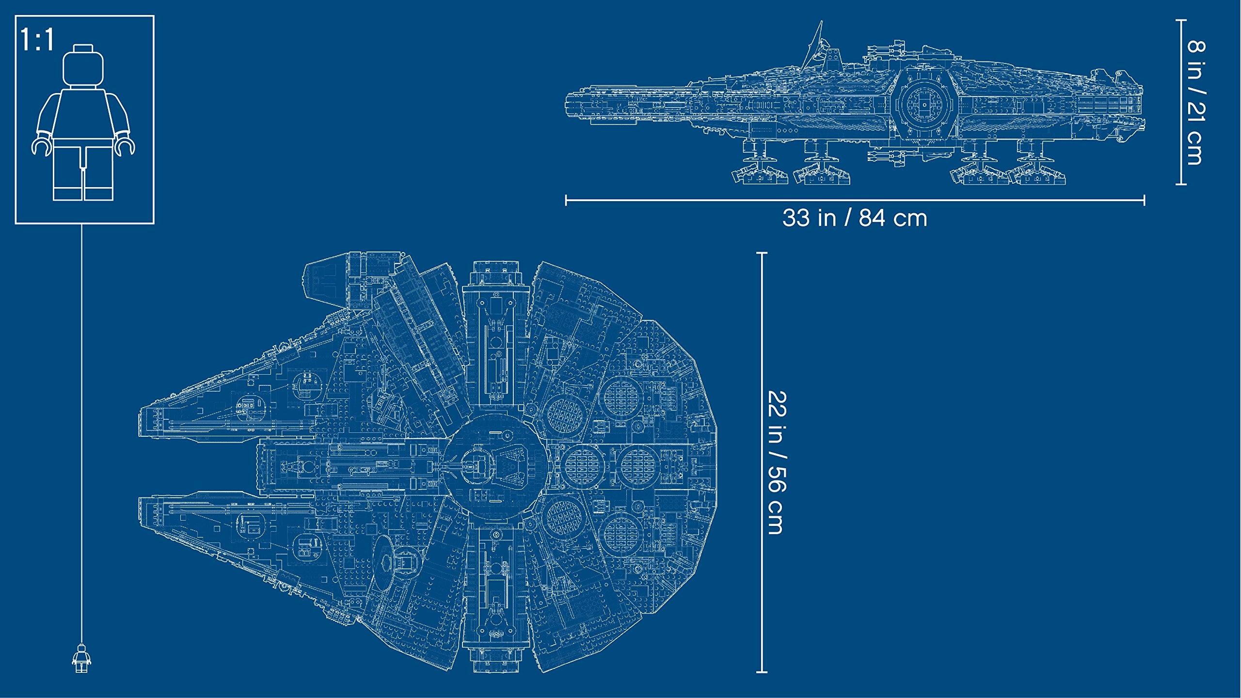LEGO Star Wars Millennium Falcon 75192 Building Kit (7541 Piece) by LEGO (Image #6)
