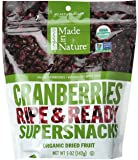 Made In Nature, Organic Cranberries, 5 oz