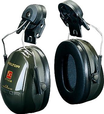 3M PELTOR Optime II Orejeras para casco Verdes 30 dB (1 orejera/caja)