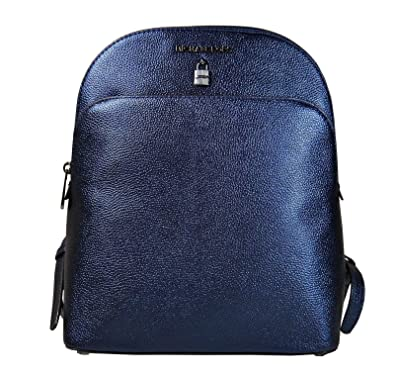 9eb82d3c9ab3 Amazon.com: Michael Kors Adele Large Leather Backpack in Midnight: Shoes