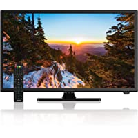 AXESS TVD1805-22 22-Inch 1080p LED HD TV | 12V Car Cord Technology, VGA/HDMI Inputs, Built-in DVD Player, Full Function…