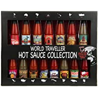 Modern Gourmet Foods, Global Chilli Hot Sauce Gift Set, 15 Inspired Hot Sauce Flavours Including Hawaiian Lava Flow…