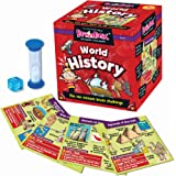 The Green Board Game Co. BrainBox - World History