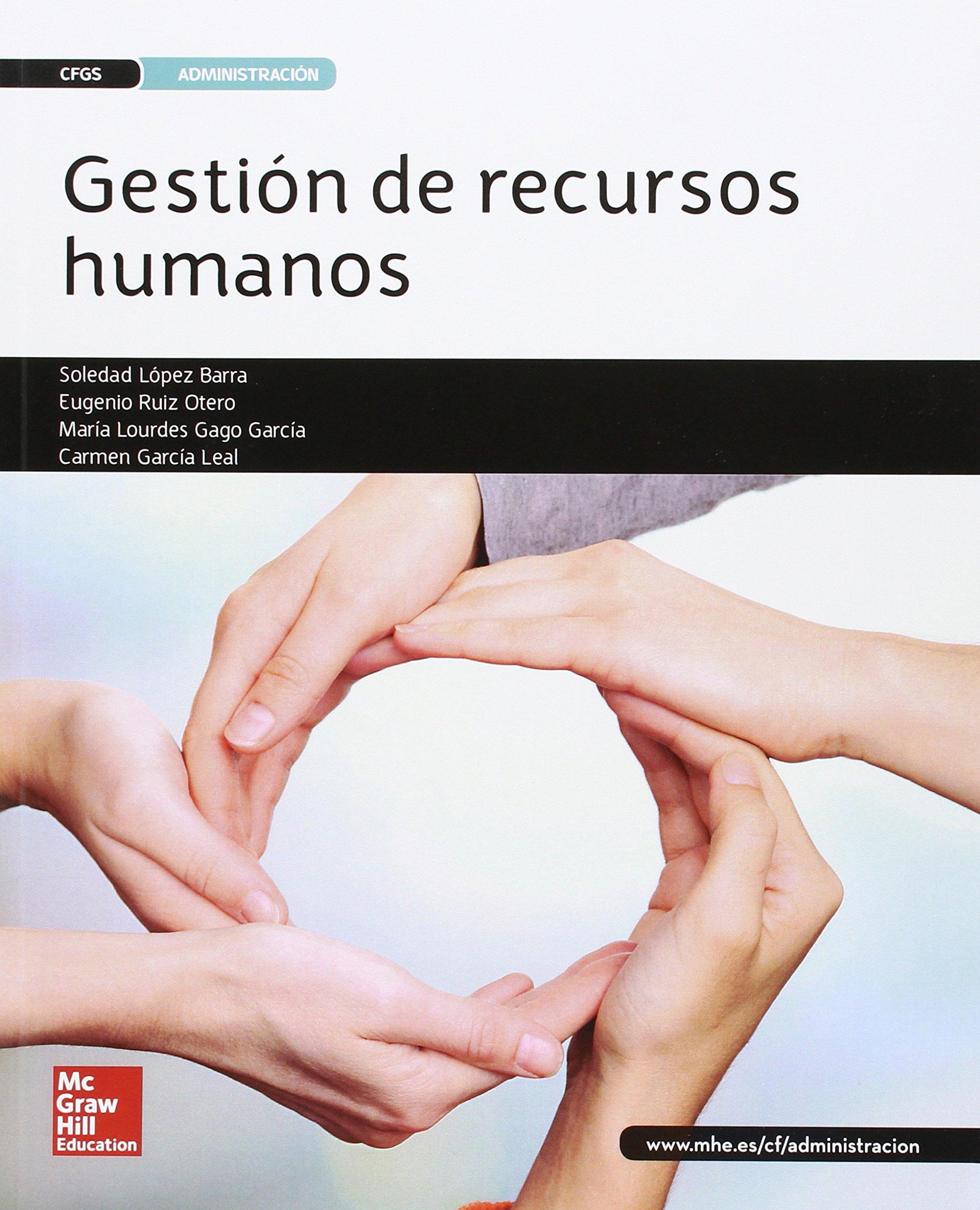 Gestión De Recursos Humanos Grado Superior García Leal María Del Carmen Mx Libros