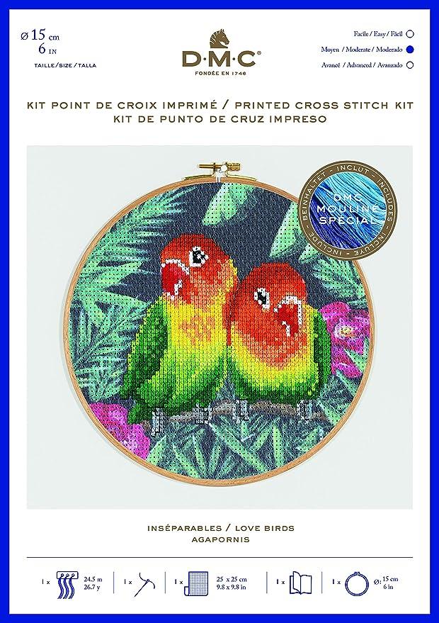 DMC Punto De Cruz Kit-Safari Animales-Twos Company
