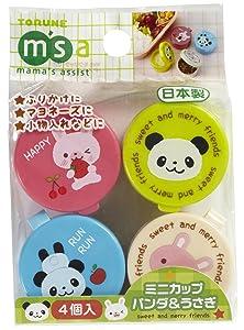 CuteZCute P-3080 Food Pick, Bento Box, Mini, Blue, Pink, Green, Cream