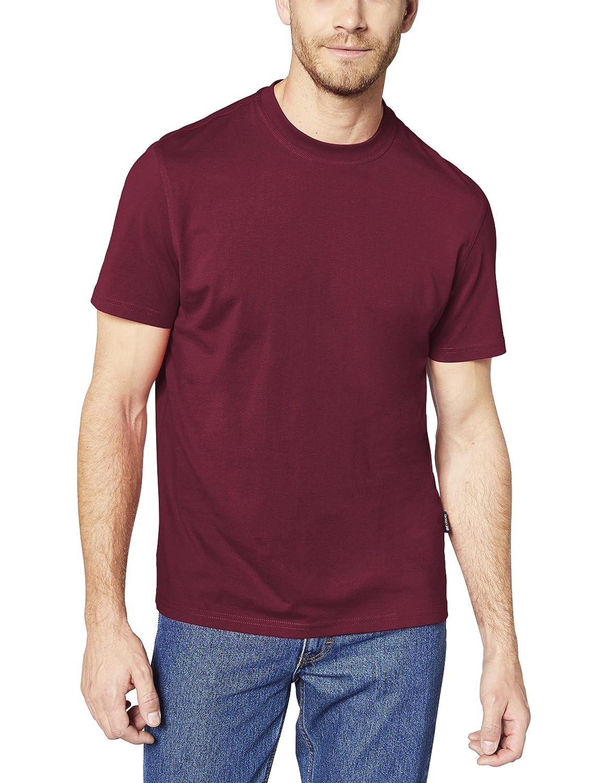 EXPAND 1071200-GR Herren Arbeits T-Shirt, 017 WEINROT, 6XL