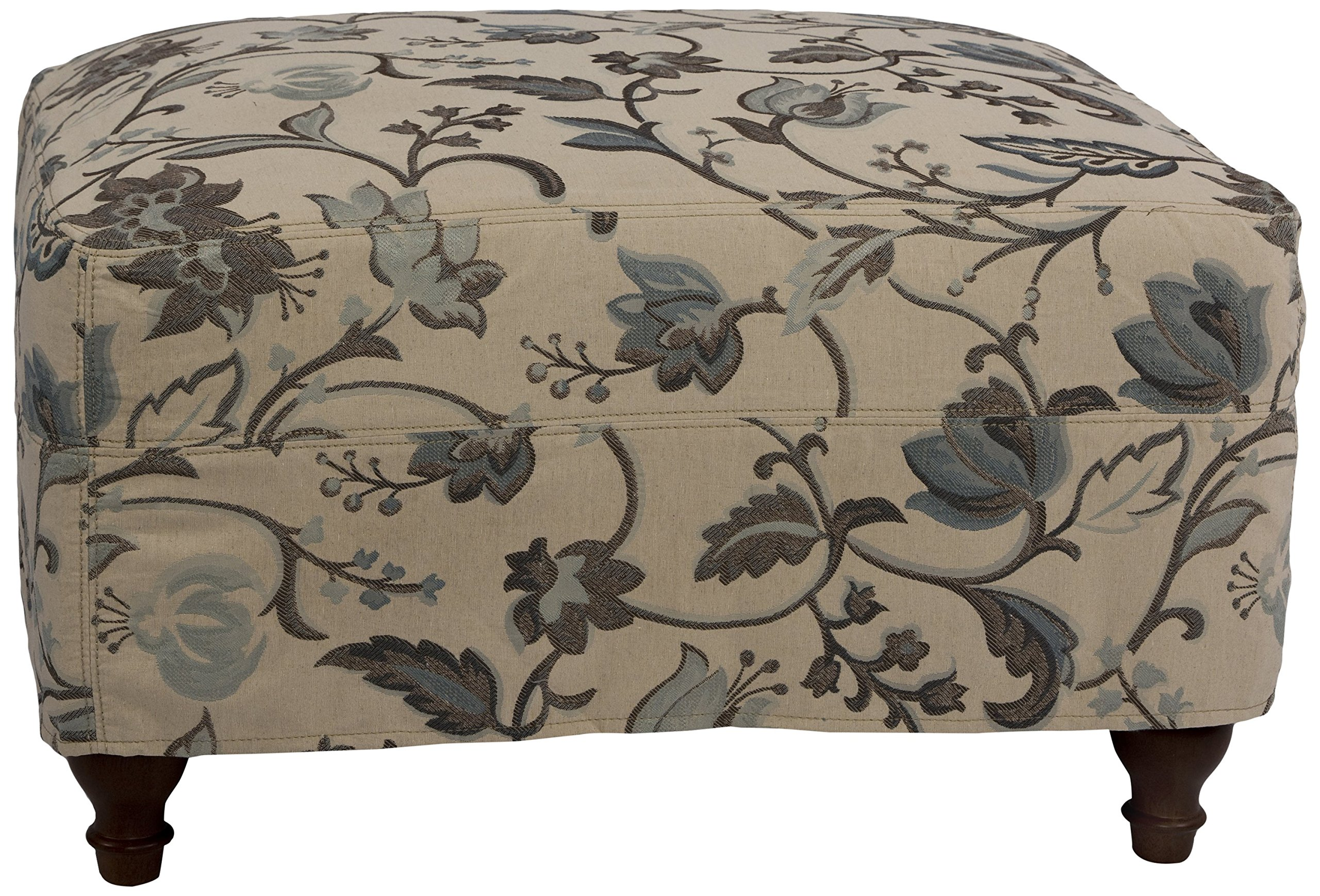 Sunset Trading Seacoast Ottoman Slip Cover Set Only, Saratoga Spa