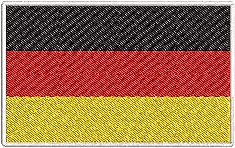 Amazon Com German Flag Patch Iron Sew On Germany Deutsche Flagge