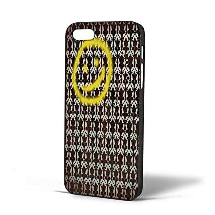 Smiley Sherlock Holmes In Wallpaper Wall For IPhone Case 6s Plus Black