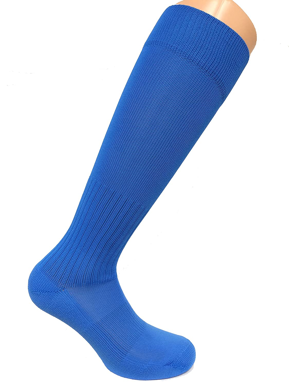 Soc Com Poly Proサッカーソックス B0034BXK7W L|ブルー(Columbia Blue) ブルー(Columbia Blue) L