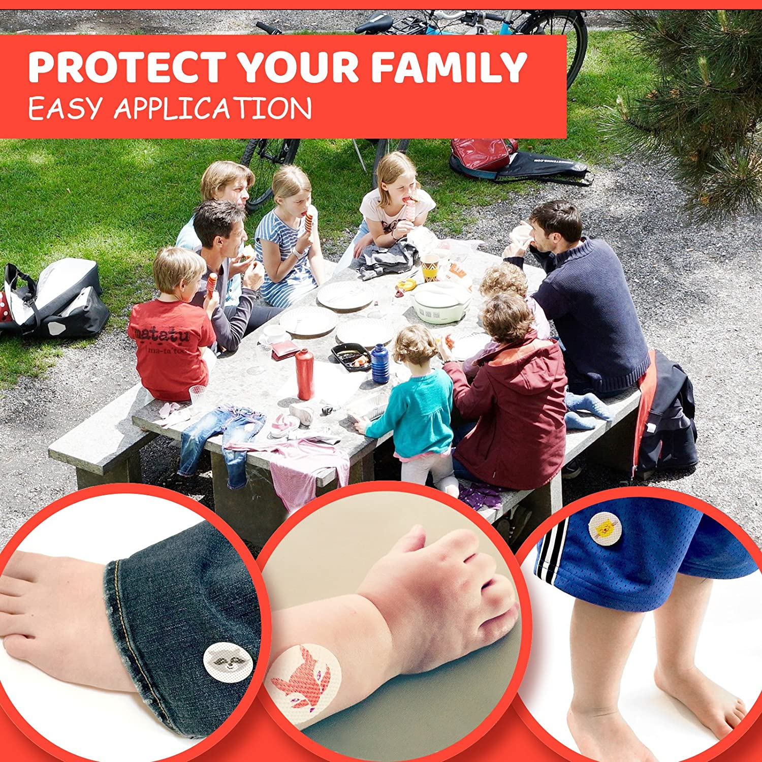 Best Mosquito Repellent Stickers With Citronella Oil Beauty Barn Kid Body For Kids Or Adults Includes Free E Book On Nature Crafts Portable Pest Repeller And