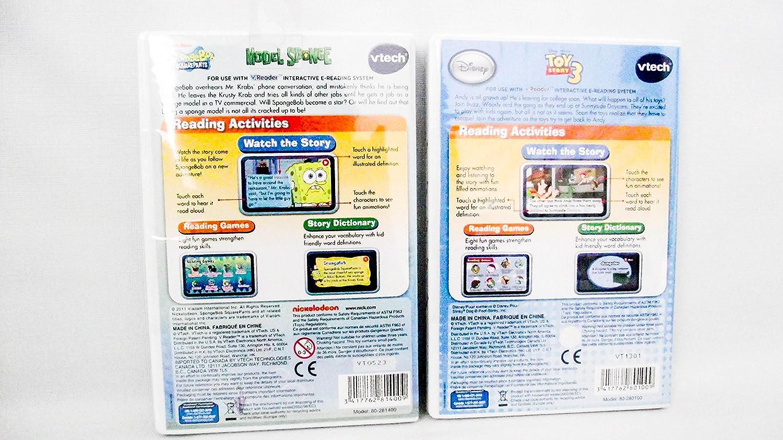 Buy Vtech Mobigo Software Toy Story 3 And Spongebob Squarepants