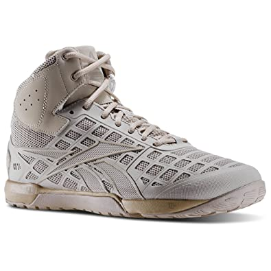 Reebok Womens CrossFit Nano 3.0 Mid Khaki-Canvas Athletic Shoes, 8.5 M US