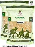 Arya Farm Natural Fox Tail Millet Korra Siridhanya , 1 Kg ( Pack of 2 )