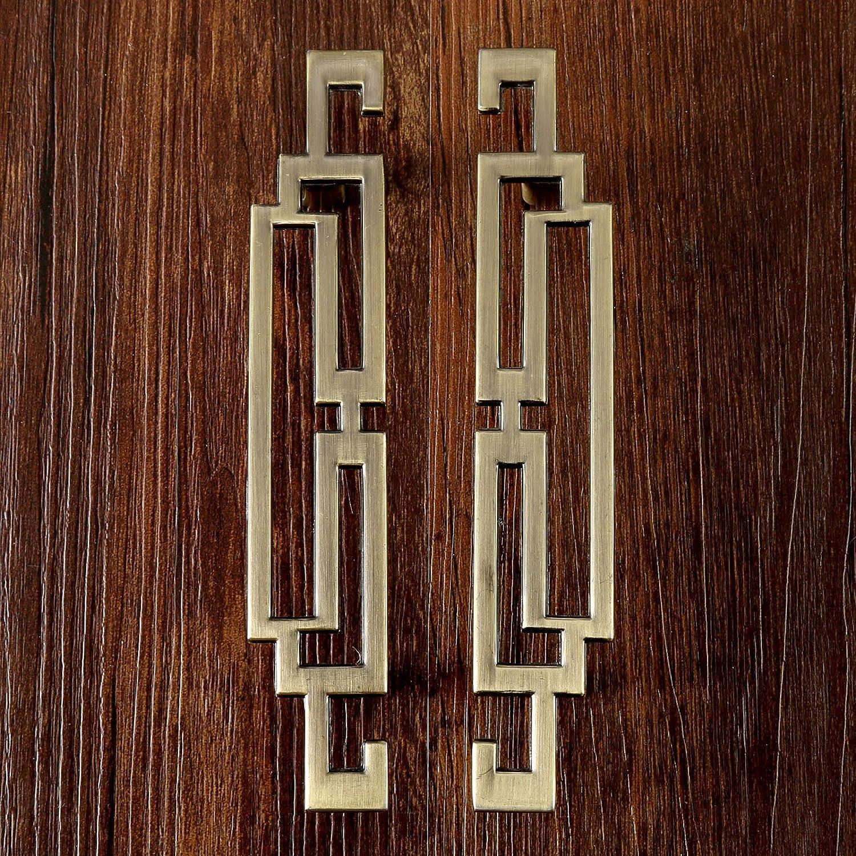 1Pc 177mm Simple Style Handle Kitchen Cabinet Door Handles Nordic Drawer Knobs Furniture Hardware Antique Bronze