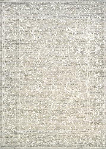 Couristan Everest Persian Arabesque Bone Area Rug 2 x 3 7